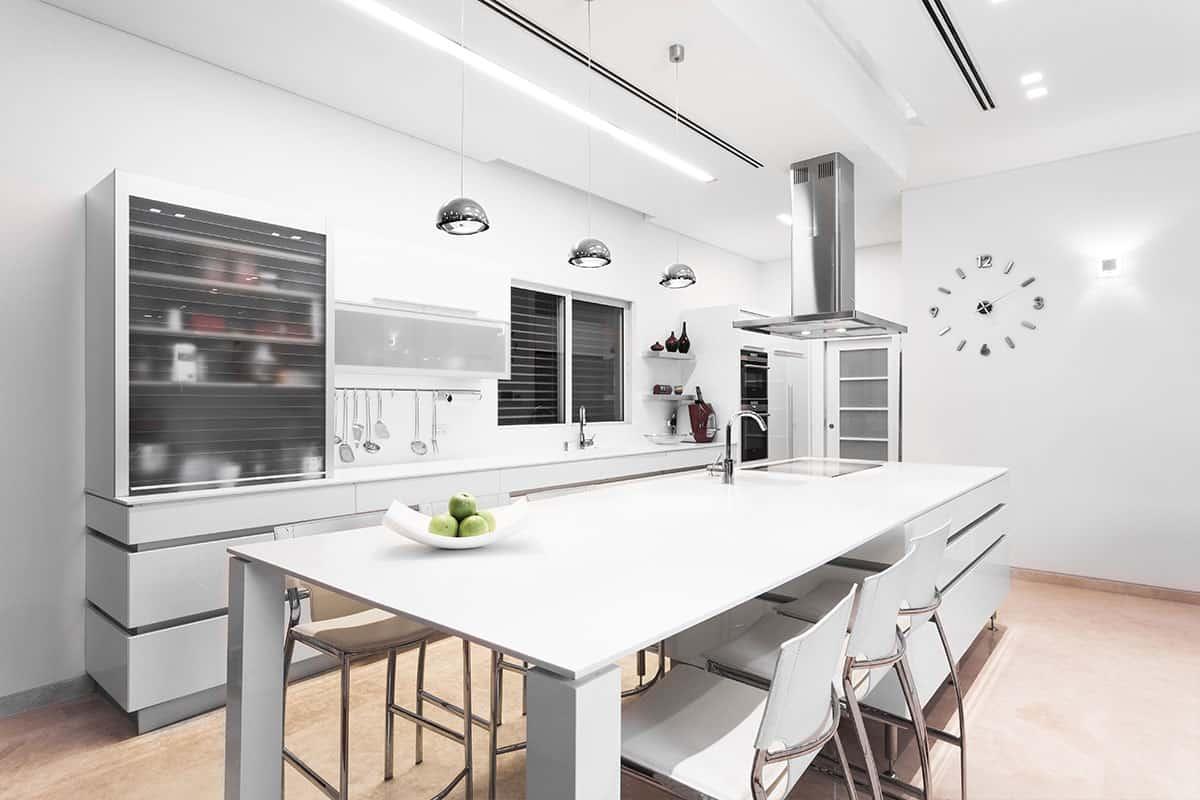 משטח קוריאן במטבח מודרני